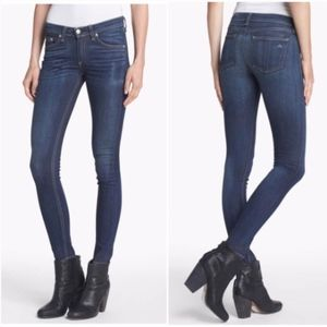 Rag & Bone Skinny Clean Charin Stretch Denim Jeans